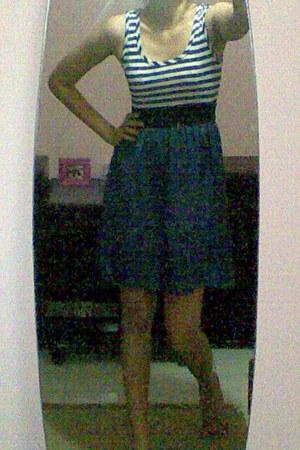 blue Paneli dress