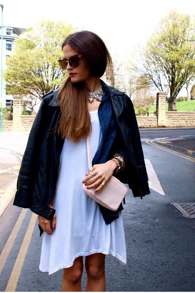 chicnova dress - H&M bag - chicnova sunglasses