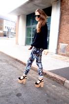 Zara pants - Topshop heels