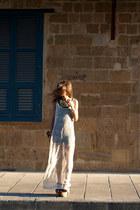 Miss Selfridge dress - Topshop heels - Zara necklace