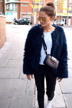 Zara jacket - H&M pants