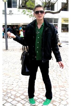 NewYorker t-shirt - Jack&Jones jacket - Zara jeans - purse - vICTORIA shoes - H&