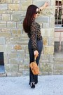 Black-vintage-shirt-dark-gray-flared-zara-jeans-tawny-jimmy-choo-purse
