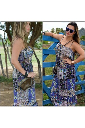 mas dress Bebe dress - Illesteva sunglasses