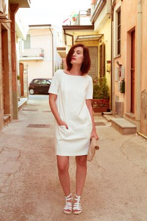 white Orsay dress
