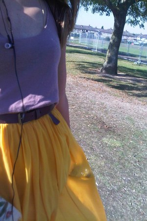Stradivarius skirt - joseph blouse - Forever 21 belt