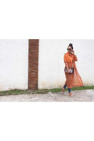 Mecca vest - Mecca jeans - Zara purse - ray-ban sunglasses - motherhood top