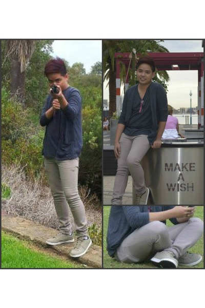 Oxygen cardigan - skinny Just jeans jeans