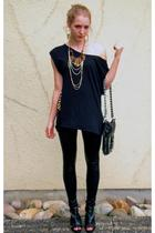 shirt - leggings - accessories - shoes - necklace - necklace
