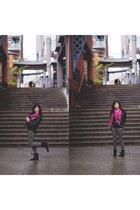Zara jeans - H&M jacket - Zara shirt - H&M scarf