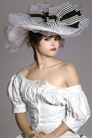 white - dress - silver - hat