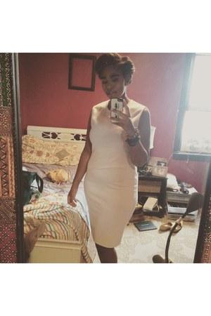 white cotton dress Forever 21 dress