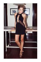 bracelet - dress - heels