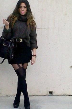 Zara skirt - vintage bag