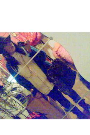 jacket - blouse - hat