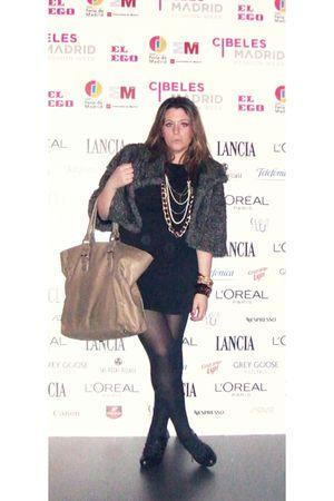 black pull&bear dress - beige BLANCO accessories