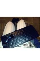 purse - panties - Ray Ban sunglasses