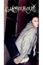 sweater - H&M shorts - BLANCO purse