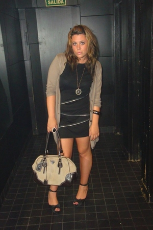Primark skirt - Sfera shoes - Zara jacket - Prada accessories
