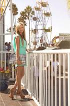 Lucy Love dress - deux lux wallet - Via Spiga heels