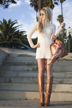 sam edelman boots - nightcap dress - Hammitt bag
