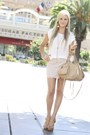 Beige-botkier-bag-white-joie-blouse-light-pink-haute-hippe-skirt
