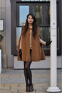 Brown-zara-coat-brown-armani-shoes