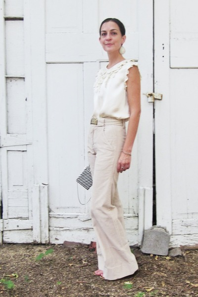 neutral corduroy vintage pants
