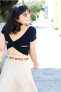 crop top Forever 21 top - Zara skirt