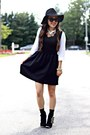 Black-booties-impressions-boutique-boots-black-forever-21-dress
