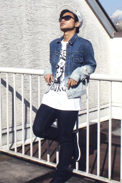 blue topman ltd Topman jacket