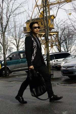 black sunglasses Marni sunglasses