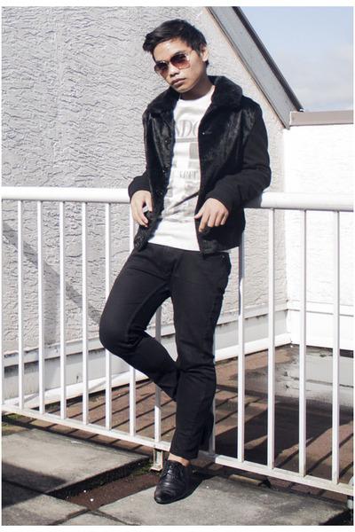 Men&39s Black Skinny Topman Jeans Black Bomber Topman Jackets