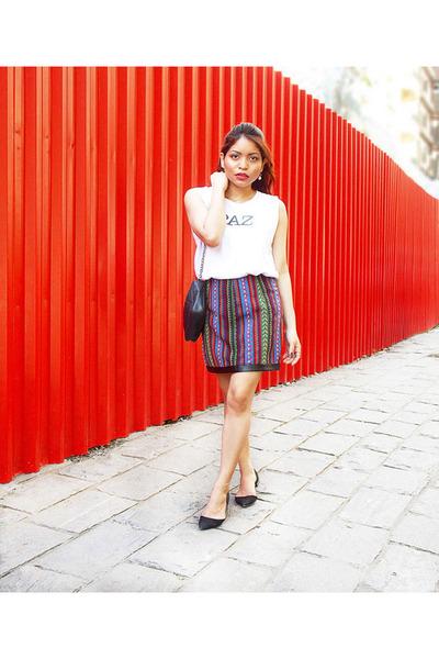 Chanel bag - Zara flats