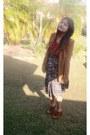 Brown-temt-blazer-maroon-temt-blouse-sports-girl-skirt-leather-windsorsmit