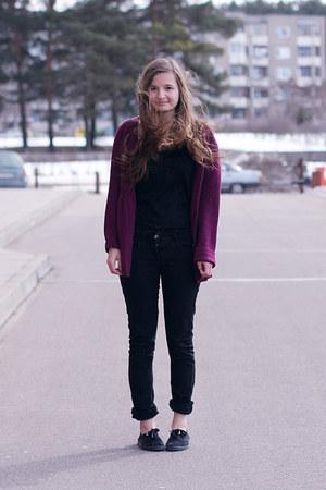 Primark jeans - lindex cardigan - Primark sneakers - second hand top