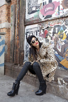 beige gypsy warrior jacket - black sam edelman boots - black gypsy warrior hat