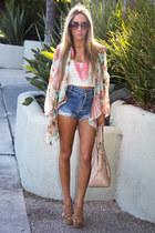 tan HAUTE & REBELLIOUS heels - light pink HAUTE & REBELLIOUS bag