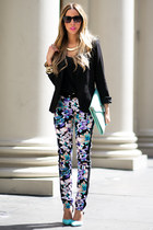 HAUTE & REBELLIOUS TROPICAL PANTS