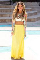 HAUTE & REBELLIOUS skirt - HAUTE & REBELLIOUS top