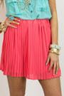 Salmon-chiffon-haute-rebellious-skirt