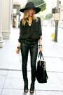 Black-karen-walker-sunglasses-open-toe-bootie-steve-madden-boots