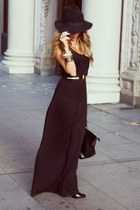 black HAUTE & REBELLIOUS hat - black HAUTE & REBELLIOUS dress