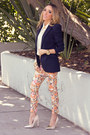 Orange-haute-rebellious-pants-navy-zara-blazer