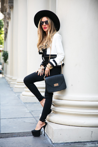 black HAUTE & REBELLIOUS shoes - black HAUTE & REBELLIOUS hat