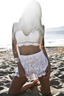 White-haute-rebellious-shorts-gold-haute-rebellious-bracelet