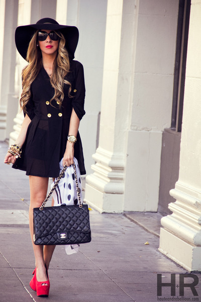 HAUTE & REBELLIOUS heels - HAUTE & REBELLIOUS dress - HAUTE & REBELLIOUS hat
