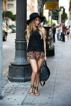 HAUTE & REBELLIOUS hat - HAUTE & REBELLIOUS bag - HAUTE & REBELLIOUS sandals