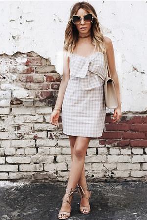 cat eye HAUTE & REBELLIOUS sunglasses - picnic HAUTE & REBELLIOUS dress