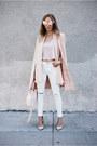 High-waisted-haute-rebellious-jeans-blush-haute-rebellious-blazer